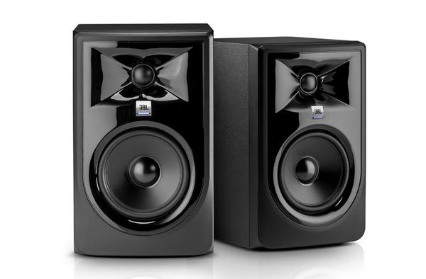 【音響世界】JBL 308P MKII新3系8吋112W主動式監聽喇叭/附美製訊號線+避震墊(公司貨)
