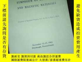 二手書博民逛書店PROCEEDINGS罕見OF THE EIGHTH SYMPOSIUM ON MAGNETISM AND MAG