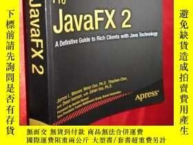 二手書博民逛書店Pro罕見Javafx 2: A Definitive Guid