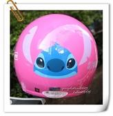 林森●卡通安全帽,兒童安全帽,CA003史迪奇,粉