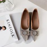 平底鞋 2018夏季新款單鞋女鞋子低筒鞋韓版時尚學生甜美女性職業工作鞋【快速出貨八折鉅惠】