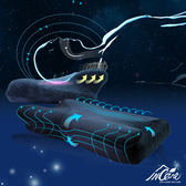 【Incare】日本4D技術舒壓透氣防鼾蝶型枕 藍色