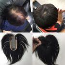 真髮頭頂髮片 仿頭皮可分線 遮白髮 手工款 男生假髮 女生假髮 13F 魔髮樂