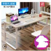 春季上新 電腦桌臺式桌家用簡約書桌簡易桌子臥室經濟型學生寫字桌辦公桌
