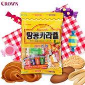 韓國 CROWN 軟糖-焦糖花生口味 120g 【庫奇小舖】