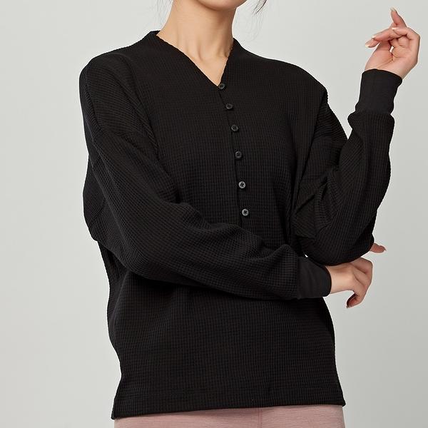 Nike yoga stmt cln cover up 女款 黑 運動 慢跑 健身 長袖 上衣 CV9906-010