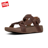 【FitFlop】RYKER BACL-STRAP SANDALS(巧克力棕)