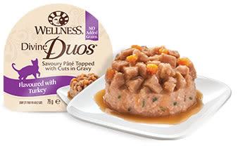 [寵樂子]《Wellness寵物健康》Duos DD寵鮮杯貓餐盒(2.8oz)單杯/貓罐頭/貓罐