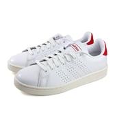 Adidas ADVANTAGE 男款紅白復古休閒鞋-NO.EG3773