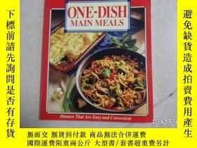 二手書博民逛書店ONE-DISH罕見MAIN MEALSY20470 BY Ge
