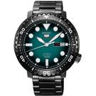 SEIKO黑綠機械錶SRPC65K1 NES53