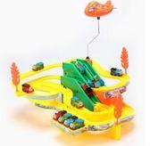 拖馬斯小火車軌道套裝多層電動爬樓梯軌道車拼裝兒童玩具23456歲wy【快速出貨八折一天】