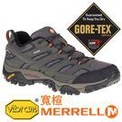 【MERRELL 美國】MOAB 2男GORE-TEX 多功能健行鞋『深灰』寬楦 06039W 機能鞋.多功能鞋.登山鞋