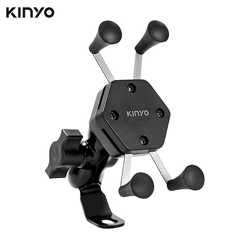 KINYO X夾式機車手機架MCH-081【愛買】