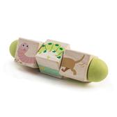 【美國Tender Leaf Toys】動物昆蟲旋轉拼圖(4面不同圖案的旋轉方塊拼圖)