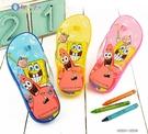 童鞋城堡-海綿寶寶 夾腳拖 SG1241-粉/藍/黃 (零碼出清價)