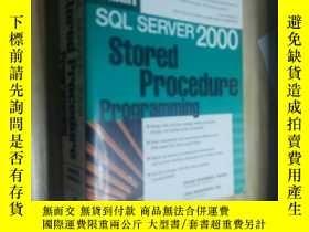 二手書博民逛書店Sql罕見server 2000 design and procedure programmingY28133