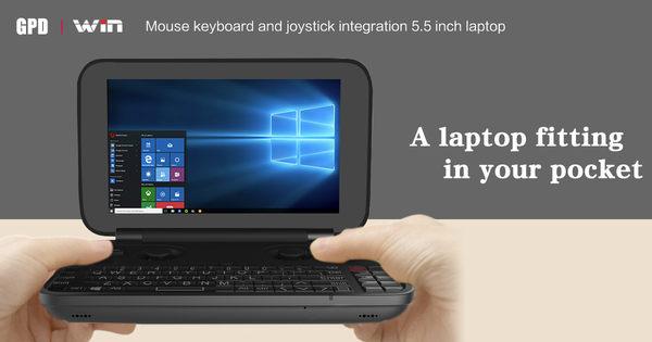 現貨在台 最新鋁合金版 GPD WIN 最新 觸控螢幕 風扇版 繁體中文 WIN10 高效能 遊戲機 5.5吋 小筆電 HDMI