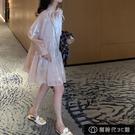 洋裝2021新款秋季裙子ins夏性感顯瘦超仙學生韓版法式慵懶【全館免運】