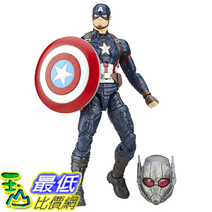 [美國直購] Marvel B6875AS0 6-Inch Legends Series Captain America Figure 美國隊長