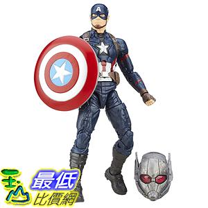[美國直購] Marvel B6875AS0 6-Inch Legends Series Captain America Figure 美國隊長