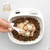貓碗貓盆貓食盆寵物用品貓糧飯盆動物碗架餐桌水盆貓耳朵 Igo 貝芙莉女鞋