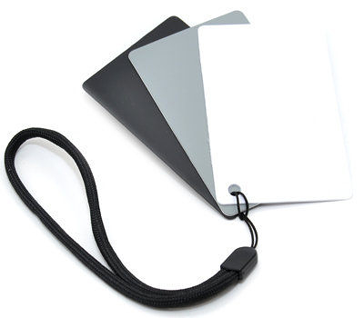 又敗家@JJC三合一灰卡+白平衡卡+黑卡GC-2(名片大小,3片裝可測光校正WB可搖黑卡降低反差)gray card
