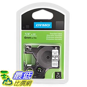 [美國直購] DYMO 43613 Standard D1 Self-Adhesive Polyester Tape for Label Makers 1/4 inch x 23 標籤紙