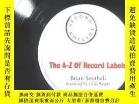 二手書博民逛書店A-z罕見Of Record LabelsY255562 Southall, Brian  Wright, C
