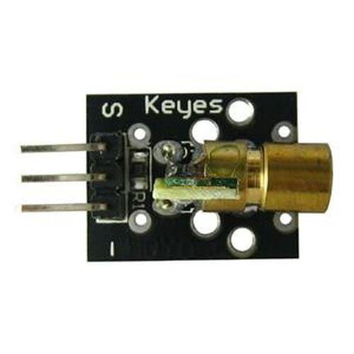 Arduino 紅光雷射激光模組