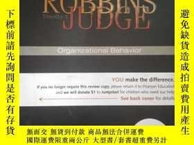 二手書博民逛書店ROBBINS罕見JUDGE Organizational Benhavior (英文)Y16149