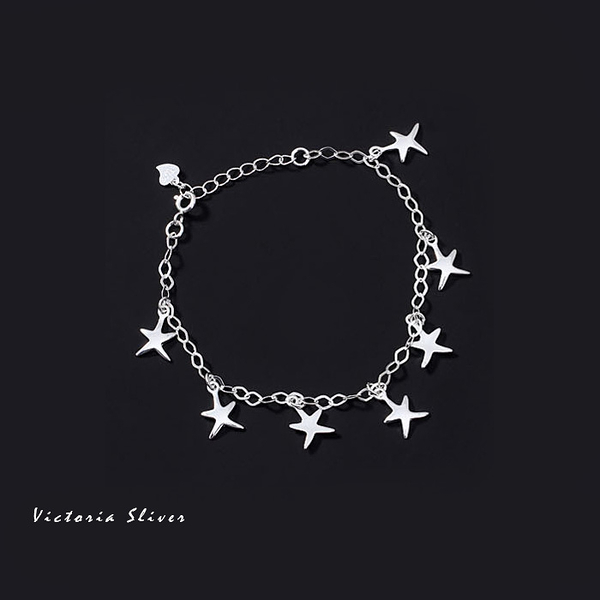S925純銀浪漫風格,優雅性感手鍊-維多利亞160945