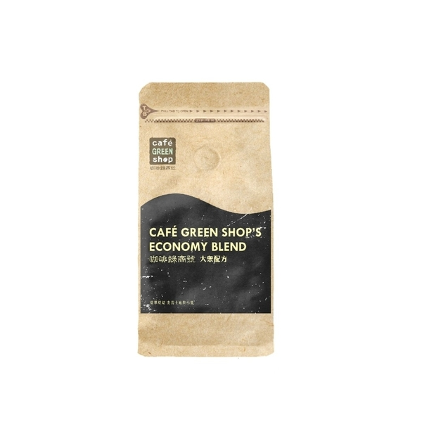 特調6號配方-義式特調卡布綜合咖啡豆(一磅)|咖啡綠.大眾