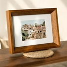 相框 北歐實木質相框ins簡約風桌面擺件擺台6 7 8寸洗照片做成相框掛牆