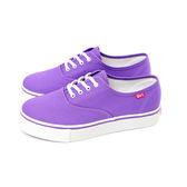 TOP GIRL 繽紛輕柔厚底帆布鞋-魅力紫