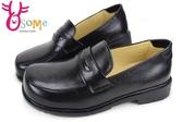 學生鞋 XSX氣墊 牛皮 女款 國高中生皮鞋 C4206◆OSOME奧森鞋業