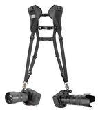 【聖影數位】BLACKRAPID 快槍俠(BT透氣精品系列)雙槍俠 Double 快速雙肩背帶 產品代碼:BTDOUBLE