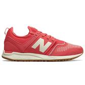 New Balance 247 女鞋 慢跑 休閒 針織 輕量 透氣 膠底 紅【運動世界】WRL247TF