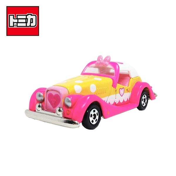 【日本正版】TOMICA DMA-05 夢幻 米妮 古董車 10周年 玩具車 Disney Motors 多美小汽車 - 129578