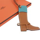 Hermès Paddock Botte Boot Leather 靴子造型吊飾 / 牛皮 全新品