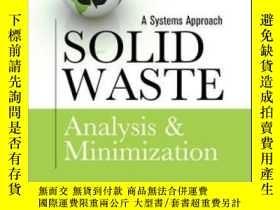 二手書博民逛書店Solid罕見Waste Analysis And Minimi
