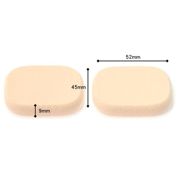 《日本製》粉撲海綿 Chasty 閃耀肌高密度粉撲角型N 2入 (434344)  ◇iKIREI