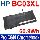 HP 惠普 BC03XL . 電池 Pro C640 Chromebook HSTNN-LB8T HSTNN-IB9K