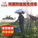 防曬防雨披風揹式雨傘