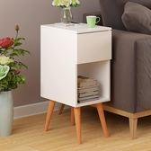 床頭櫃 歐意朗 歐式邊幾創意床頭邊桌簡約小戶型儲物櫃角幾客廳沙發邊櫃jy【滿一元免運】