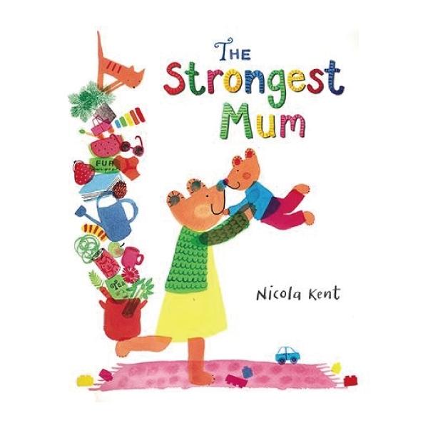 The Strongest Mum 我的強大媽媽-平裝繪本