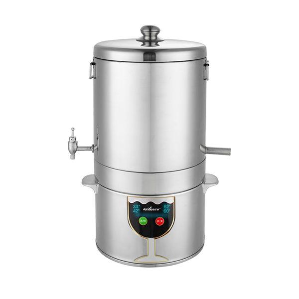 釀酒機 釀酒機家用小型全自動設備純露蒸餾燒酒白酒蒸酒器烤酒做制酒糧食 igo 城市玩家