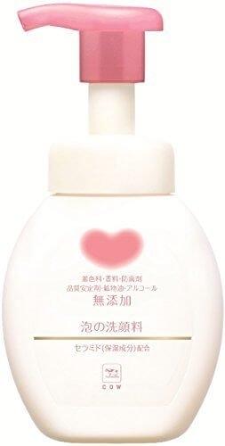 日本製【Cow牛乳石鹼】無添加保濕洗面乳200ml