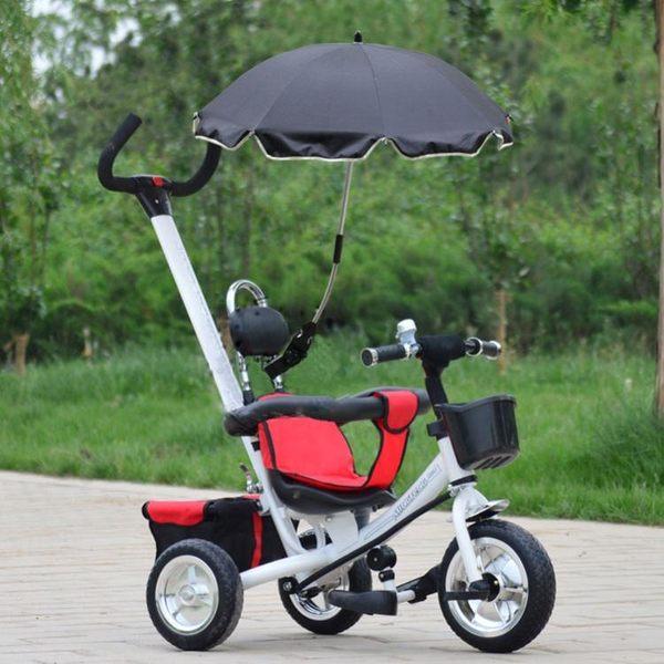寶寶手推車遮陽傘兒童三輪推車夏季防曬防紫外線嬰兒車太陽傘配件igo【蘇迪蔓】