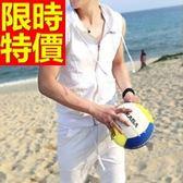 運動背心 (整套)精緻簡單-隨意舒適無袖休閒男裝外套2色59aa9[時尚巴黎]